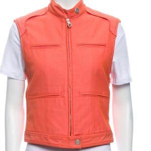 Chanel Vintage 2002 Motorcycle Vest, US 4